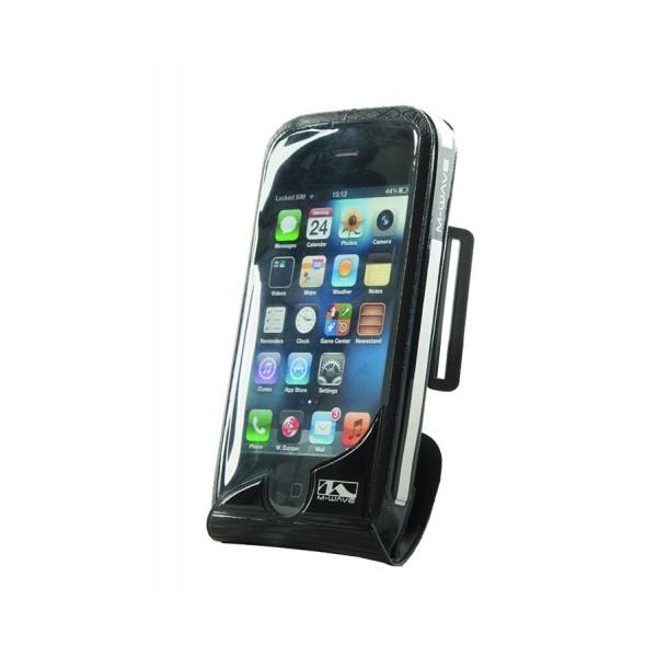 Smartphone-tasje, waterdicht, M-Wave, met draaibare houder