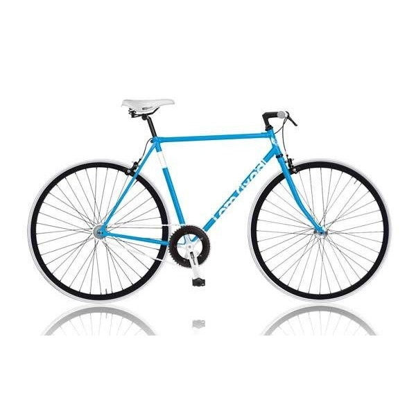 MBM I Am Fixed 28 Inch 53 cm Heren V Brake Blauw thumbnail