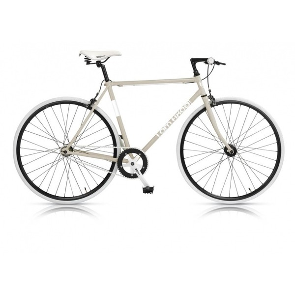 MBM I AM Fixed 28 Inch 53 cm Heren V Brake Wit