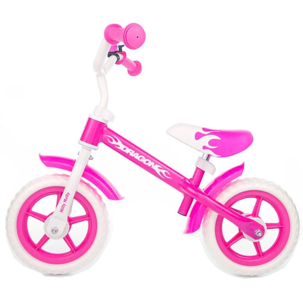 Milly Mally loopfiets Dragon Junior Roze