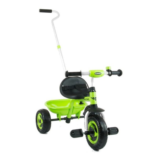 Milly Mally Turbo driewieler Junior Vrijloop Groen/Zwart