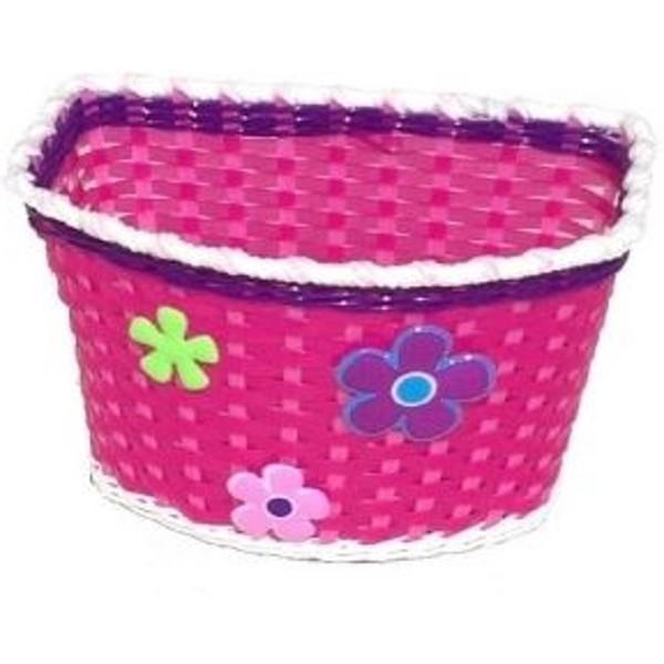 Mini Mommy Fietsmandje roze