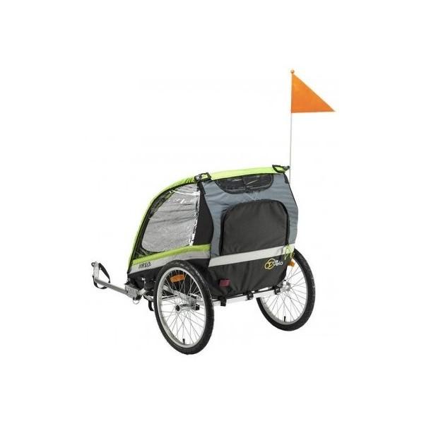 Mirage fietskar 20 Inch Junior Zwart/Groen thumbnail