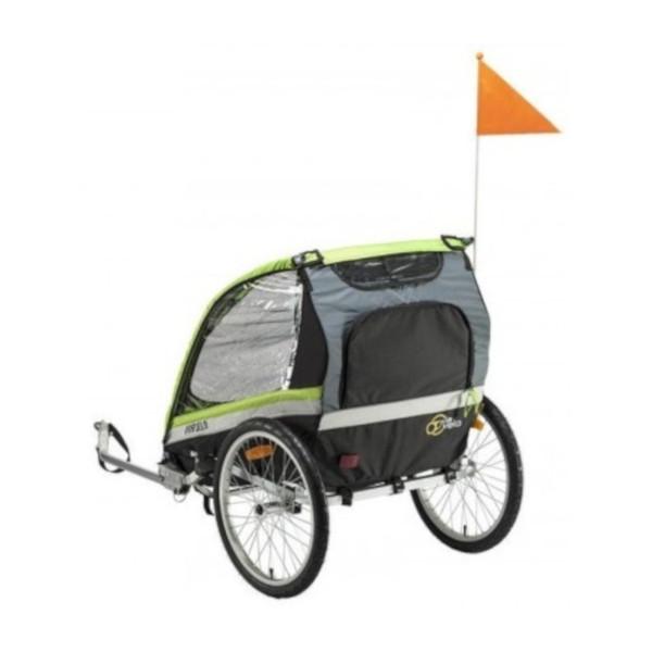 Mirage fietskar 20 Inch Junior Zwart/Groen