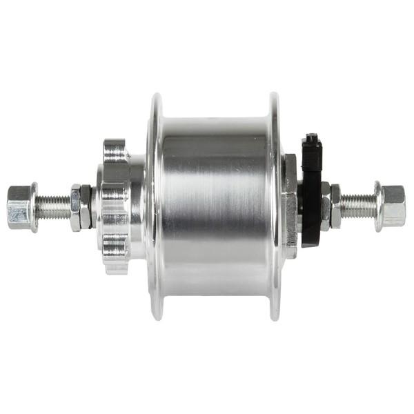 Novatec Naafdynamo 36 Gaats 6V 3W Aluminium Zilver