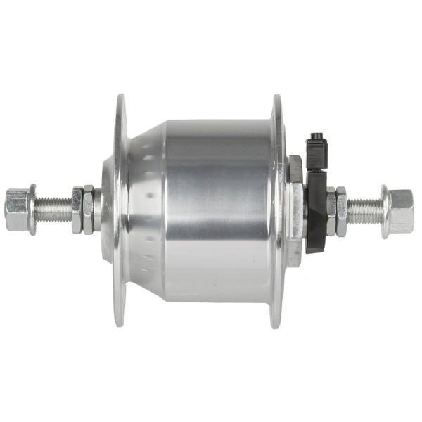 Novatec Naafdynamo 36 Gaats Aluminium 6V 3W Zilver