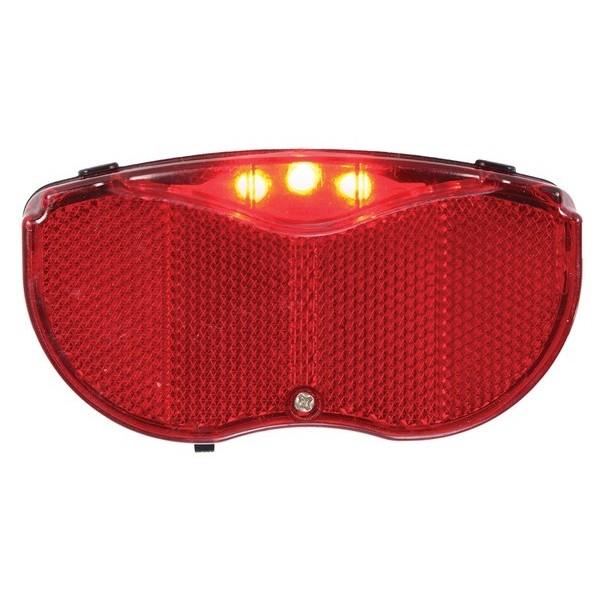 OXC achterlicht Ultra Torch 5 led batterijen rood-zwart