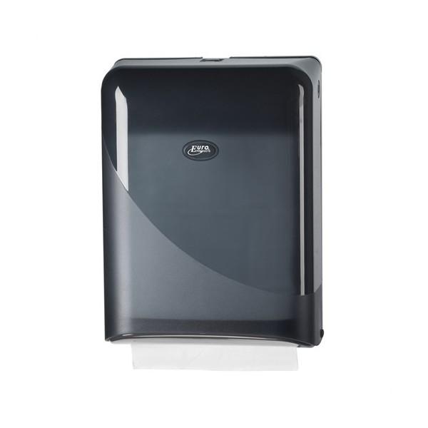 Pearl Black Handdoekdispenser Interfold-Z Vouw Zwart