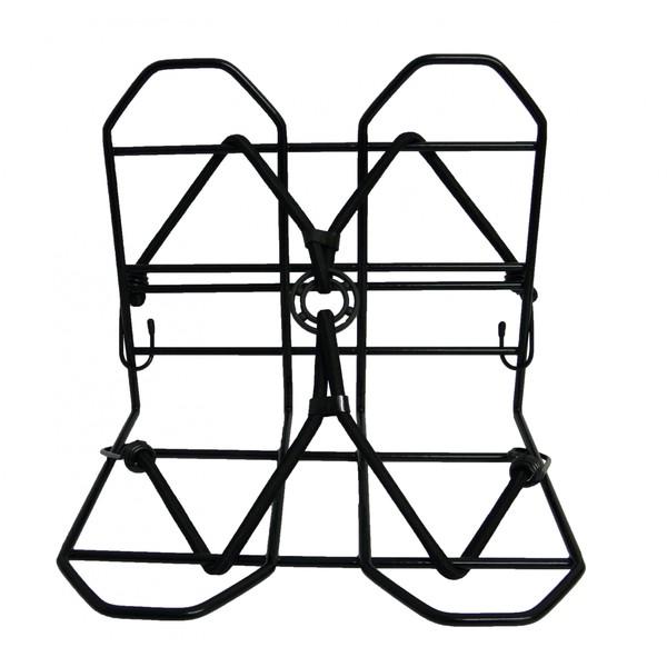 Pexkids Bagagedrager verbreder 28 x 25 cm zwart