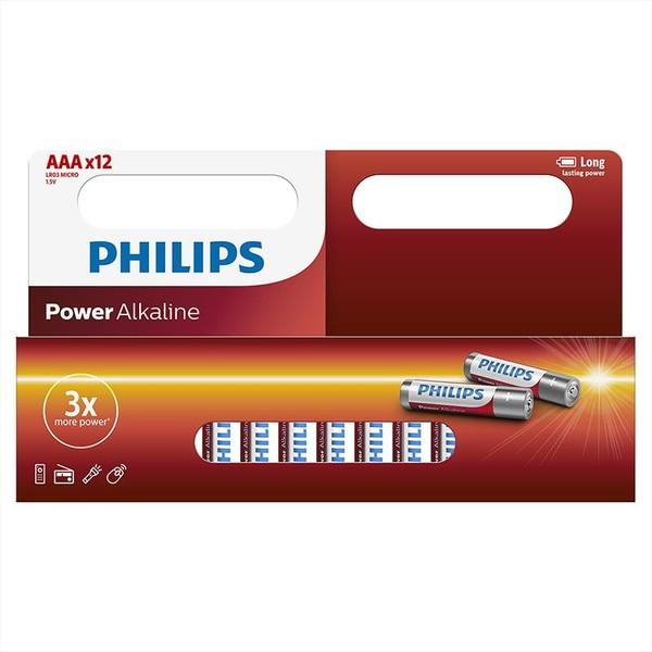 PHILIPS LR03P12W-10 12X AAA batterij