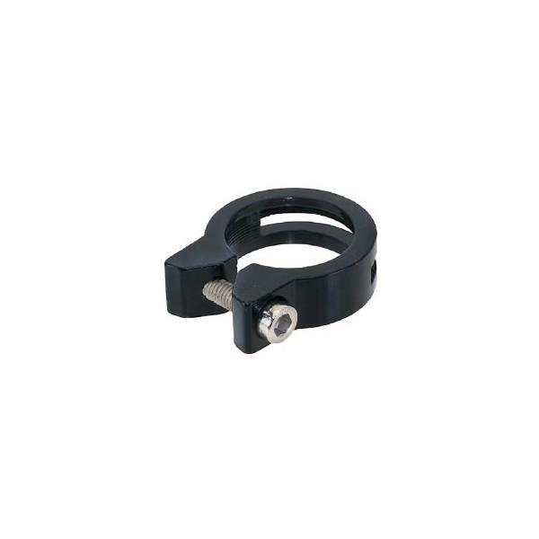 Promax Zadelpenklem 31,8 mm aluminium zwart