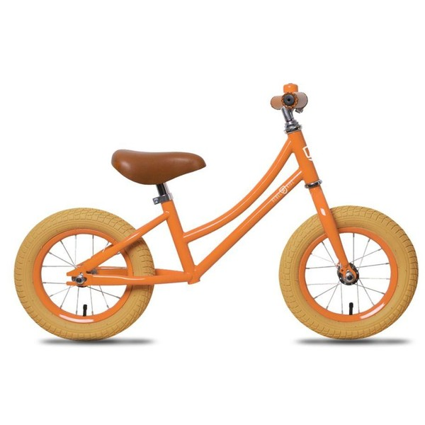 Rebel Kids loopfiets Hugo 12 Inch Jongens Oranje