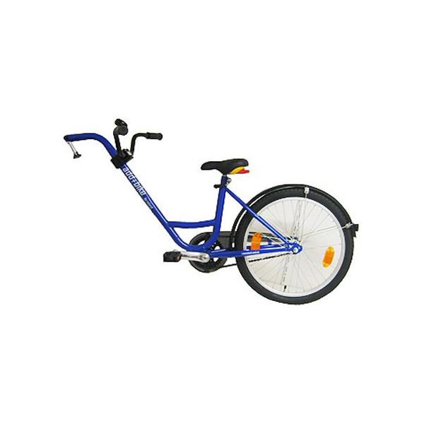 ADD+ MeeFiets (bev.a-drager) freewheel blauw