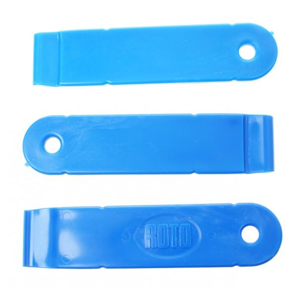 Roto Bandenlichter Set Nylon Per 3 Stuks Blauw