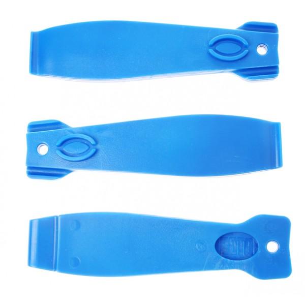 Roto Bandenlichter Set Plastic Per 3 Stuks Blauw