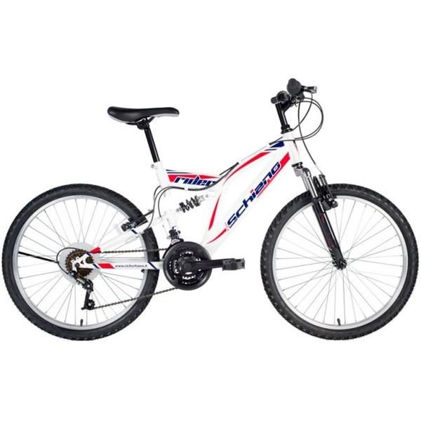 Schiano Rider 20 Inch 35 cm Jongens 6V V Brake Wit