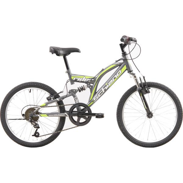 Schiano Rider Eco 20 Inch 35 cm Jongens 6V V Brake Antraciet/Groen