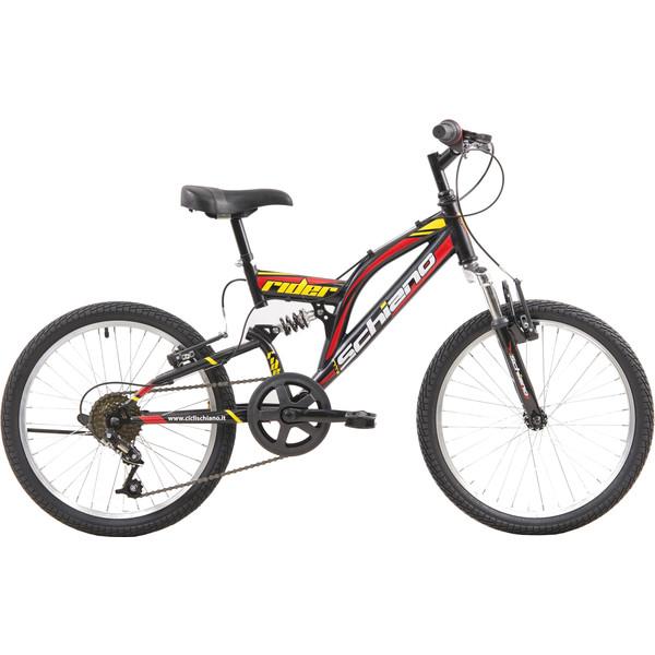 Schiano Rider Eco 20 Inch 35 cm Jongens 6V V Brake Zwart/Rood
