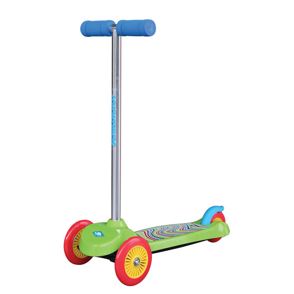 Schildkr�t Funsports 3 wiel kinderstep Junior Voetrem Groen