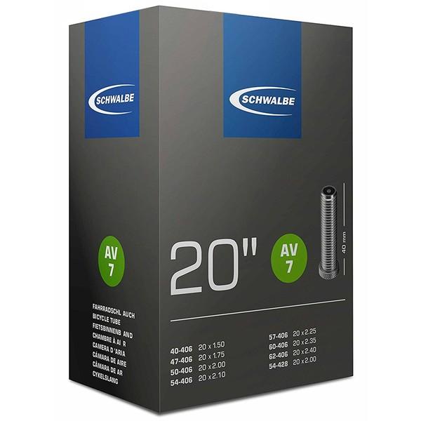 Binnenband 20X150-250 Schwalbe Auto Ventiel (40) Av7
