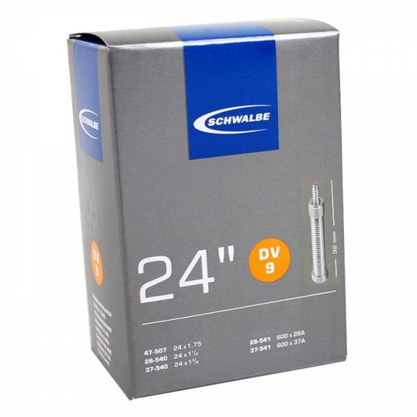 Binnenband 24X11-8-13-8-175 Schwalbe Dunlop Ventiel (32) Dv9