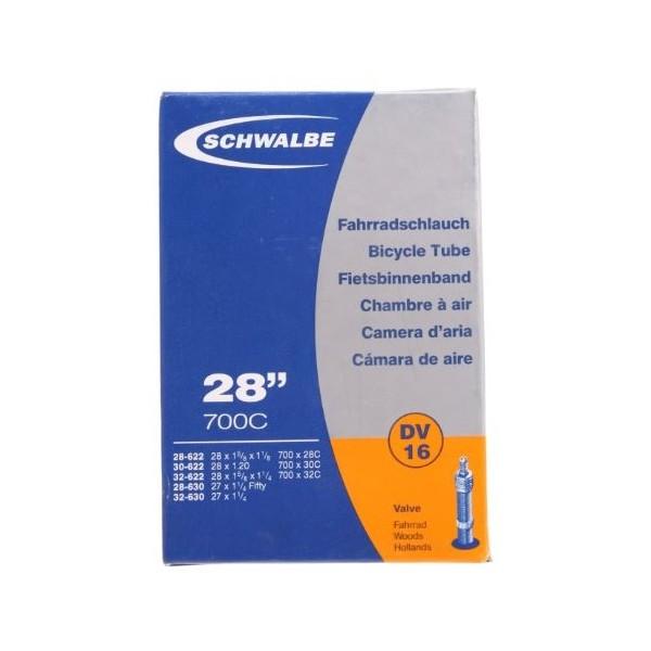 Binnenband 28X11-8-11-4-120 Schwalbe Dunlop Ventiel (40) Dv16