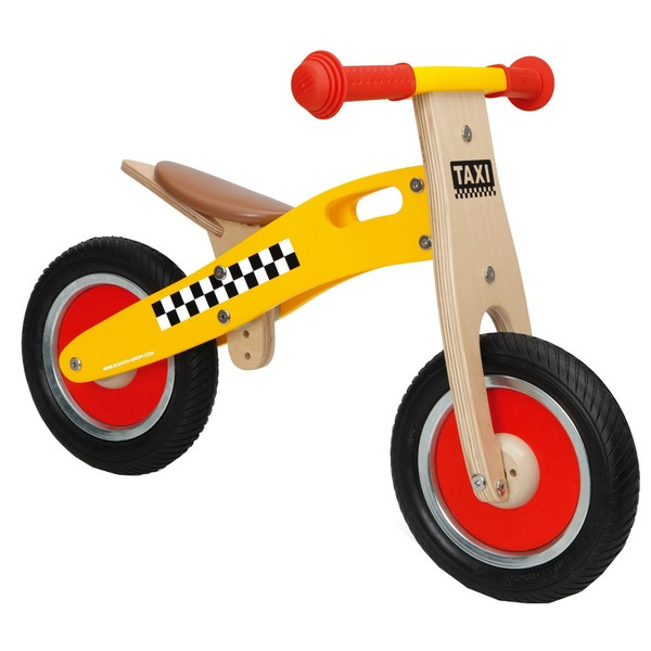 Scratch Loopfiets Balance Bike Taxi