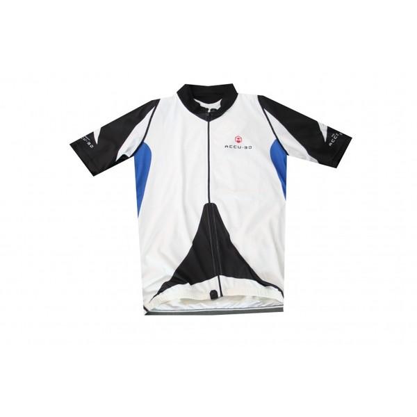 Shimano Fietsshirt korte mouw Accu 3D Heren Wit Maat XL S thumbnail