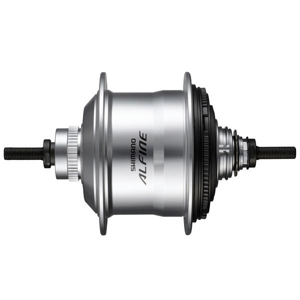 Shimano versnellingsnaaf Alfine SG S7001 11V 16G 187-135 zilver