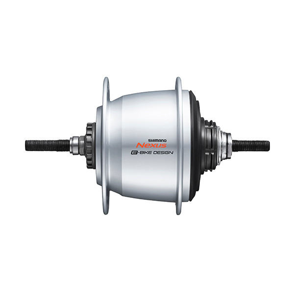 Shimano versnellingsnaaf Di2 Nexus SG C7050 5V 16G 187-36 zilver