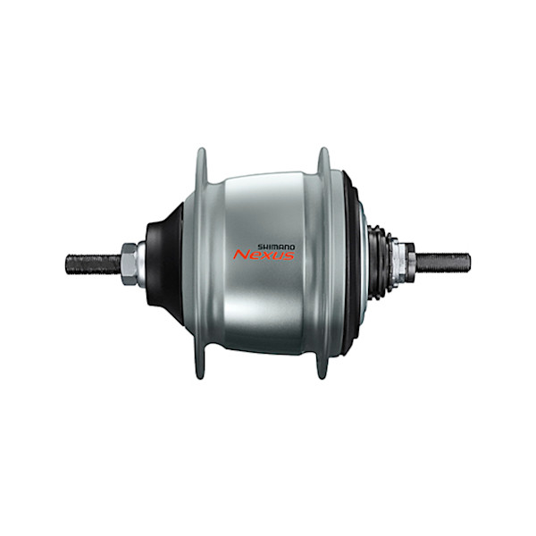 Shimano versnellingsnaaf Nexus C6001 8V 8S v brake zilver