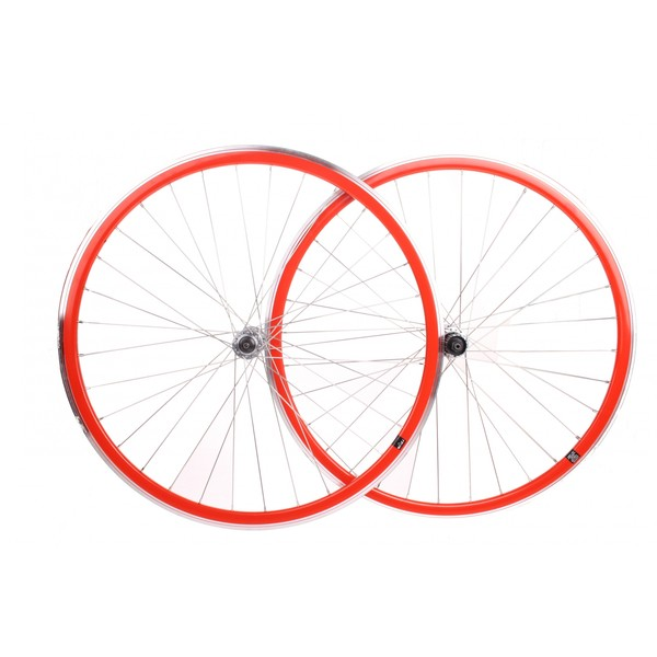 shimano wielenset race 28 inch622 velgrem aluminium 32s rood