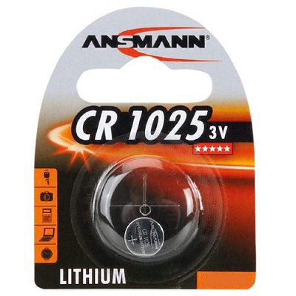 Ansmann 3V Lithium CR1025 (1516-0005)