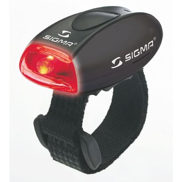 LED-veiligheidslamp Micro zwart-rood Sigma Waarschuwingslicht, sportlicht 17235 Micro zwart-rood