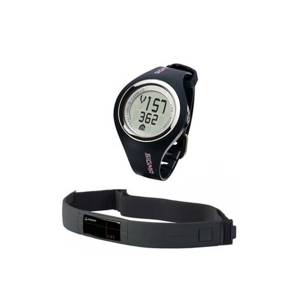 Sigma Sports Pc 22.13 Woman Horloge Hartslagmeter Zwart Stuk
