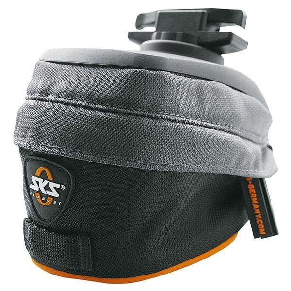 SKS zadeltas Race Bag XS 0,5 liter zwart/grijs