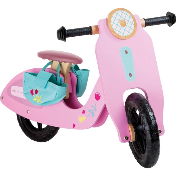 Small Foot Houten Loopfiets Pink speedster