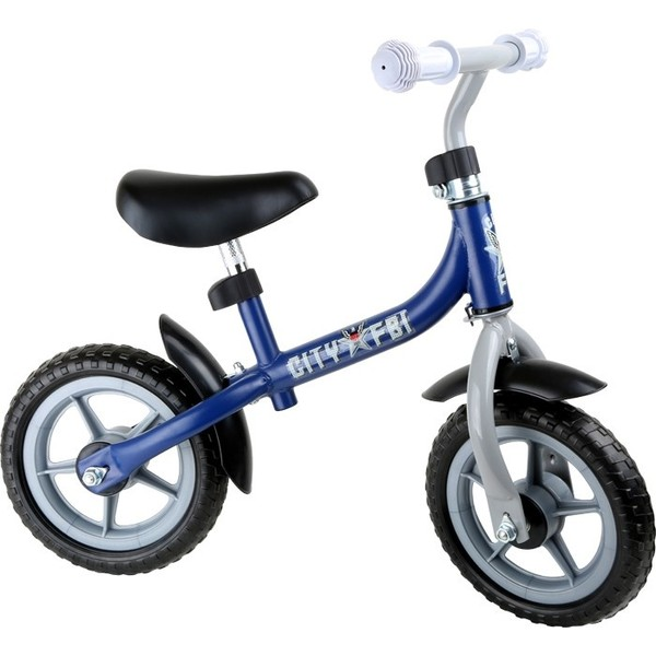 Small Foot Loopfiets city scooter Jongens Blauw