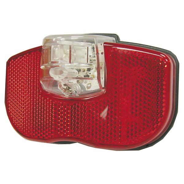 Smart Achterlicht LED Voor Dynamo Rood Wit