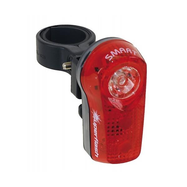 Smart Superflash 0.5 Watt Fietslamp Verticaal Achter