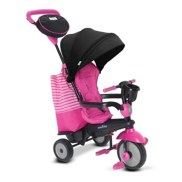 smarTrike Swing DLX 4 in 1 driewieler 10 Inch Meisjes Roze