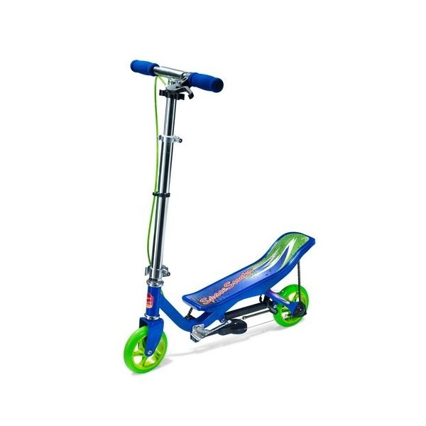 Space Scooter Stepperbike X360 Jongens V Brake Blauw thumbnail