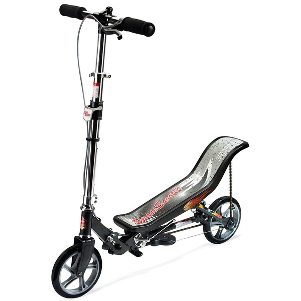 Space Scooter Stepperbike X580 Unisex V Brake Zwart/Zilver thumbnail