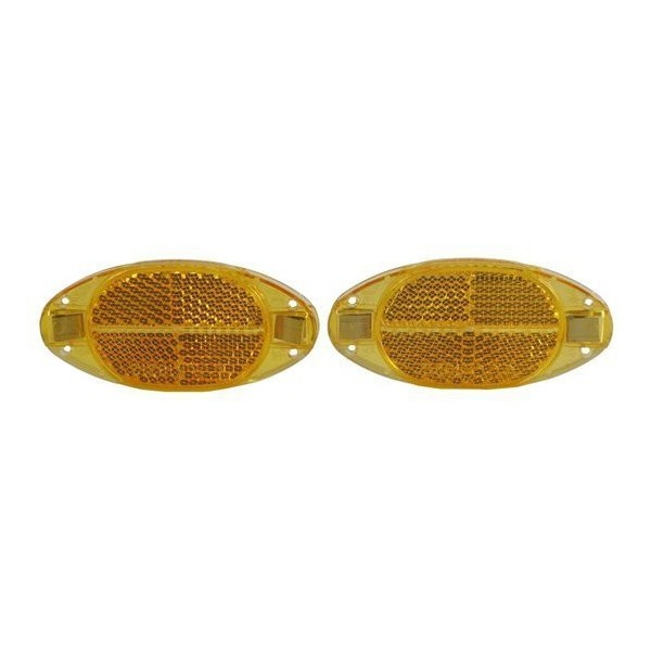 Spanninga Reflector Voor Wiel en Spaak Oranje 2 Stuks