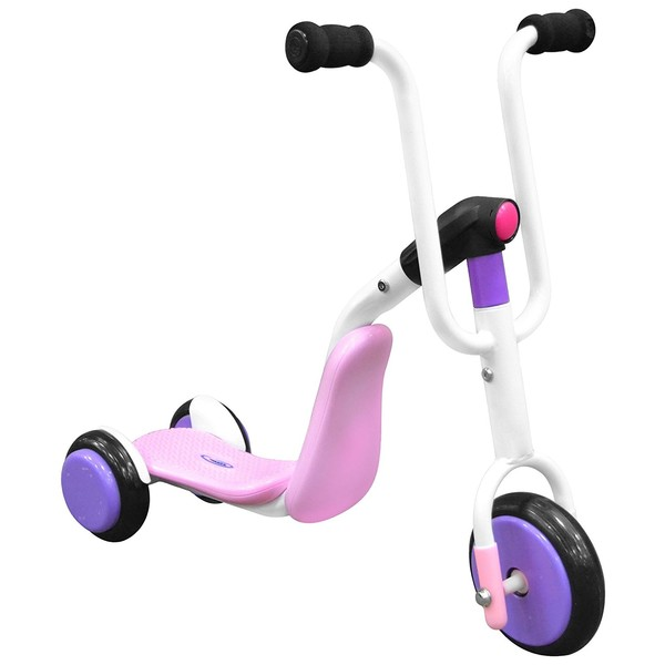 Stamp 2 in 1 Tri scooter Meisjes Roze/Paars