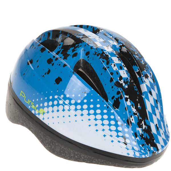 Summit fietshelm Pursuit junior blauw maat 48 52 cm