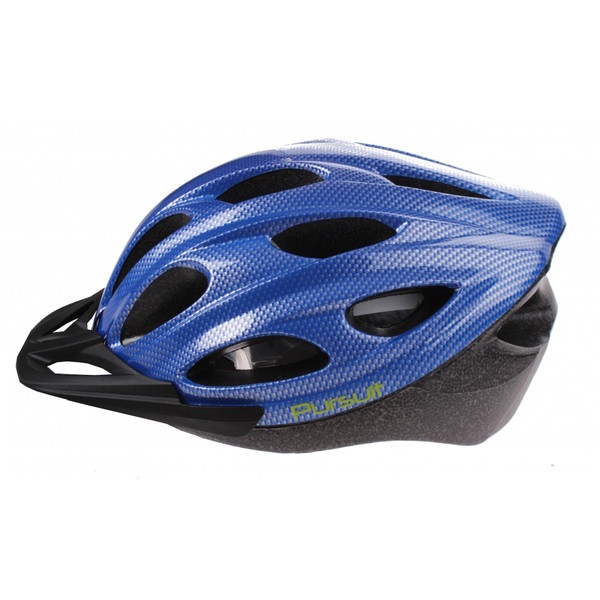 Summit Pursuit Fiets Helm unisex maat 58 62 cm blauw