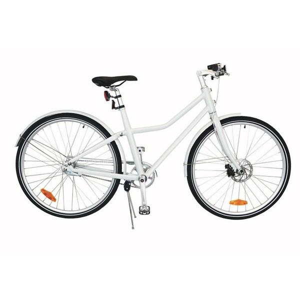 TOM City Bike Deluxe 28 Inch 48 cm Unisex 2V Schijfrem Wit