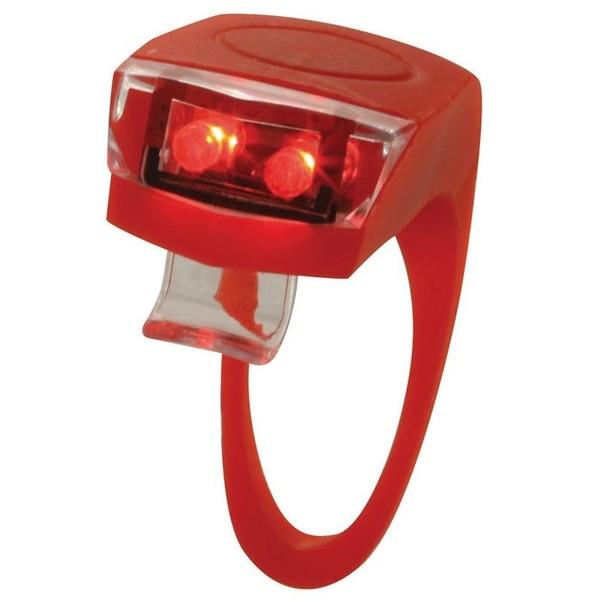 Torch achterlicht Tail Bright Flex 2 led batterij rood