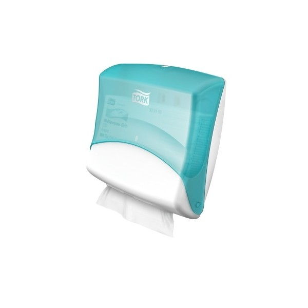Tork Performance Dispenser TopHolder wt-turqoise 39x43x21 cm W4 dispenser ds a 1